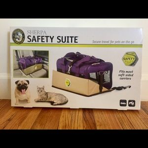 Sherpa safety suite in tan